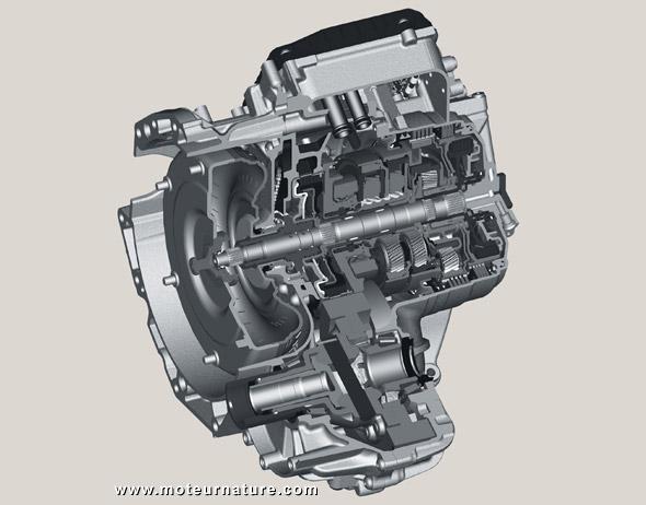 Construction de boites de vitesses Ford