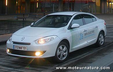 Renault Fluence ZE électrique