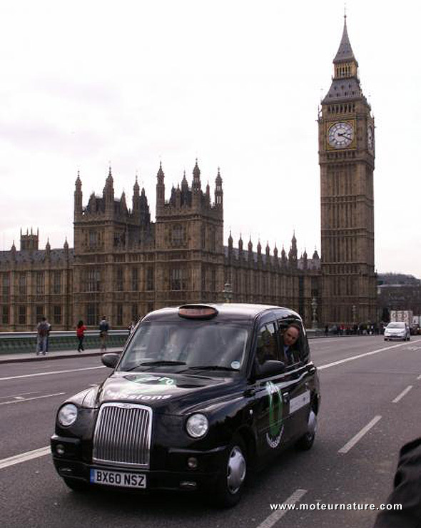 Un taxi à hydrogène a roulé à Londres