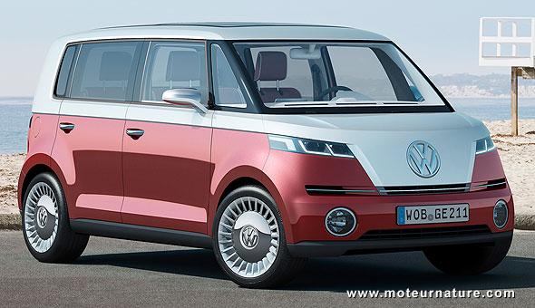 Volkswagen électrique Bulli