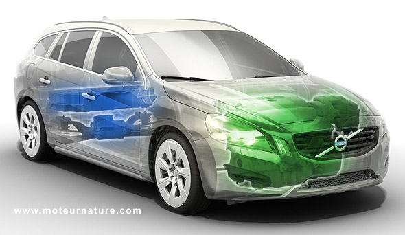 Volvo V60 hybride rechargeable