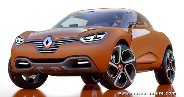 concept renault captur 99 g km de co2 il y a du vert en lui. Black Bedroom Furniture Sets. Home Design Ideas