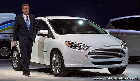 Ford vendra ses électriques avec le chargeur