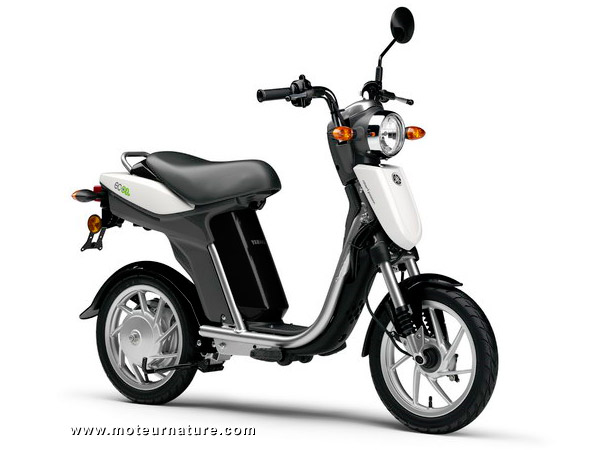 Le scooter électrique Yamaha est en Europe