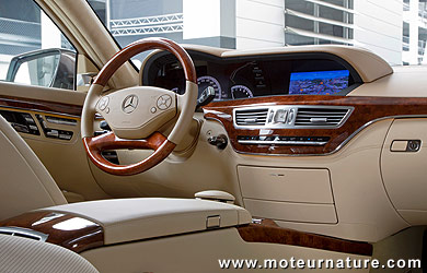 essence ou diesel mercedes s 350 blueefficiency ou bluetec le co2 gal. Black Bedroom Furniture Sets. Home Design Ideas