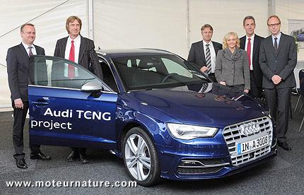 Usine Audi d'e-gas