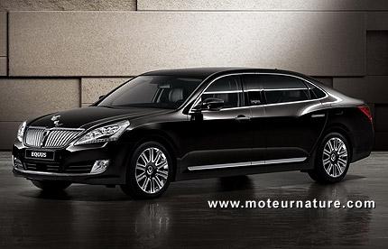 Une grosse limousine V8 pour Ban Ki-moon