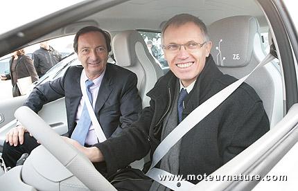 Leclerc, plusqu'un client pour la Renault Zoe