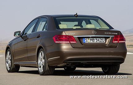 Révolution essence sur la Mercedes classe E