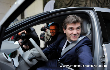 Renault Zoe: Arnaud Montebourg livré avant les autres