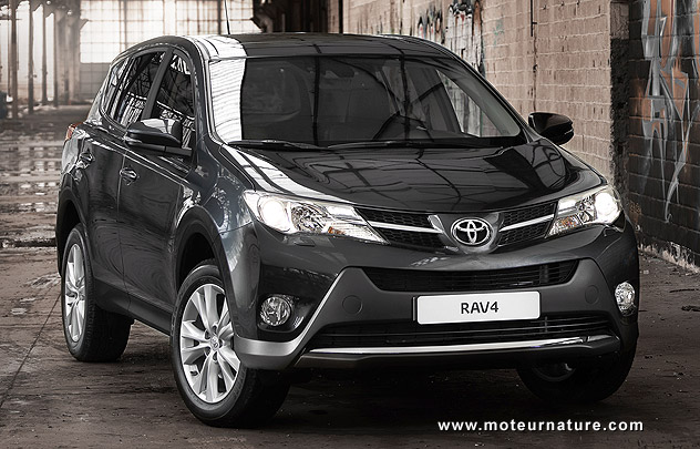 nouveau toyota rav4 l 39 ultra classique. Black Bedroom Furniture Sets. Home Design Ideas
