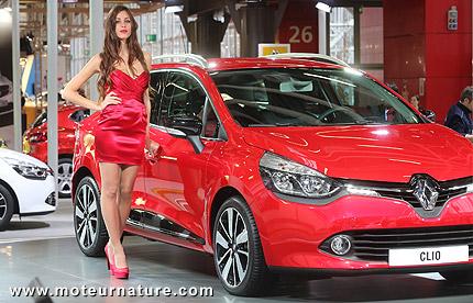 Renault Clio au salon de Bologne