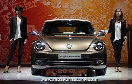 Volkswagen Beetle cabriolet au salon de Bologne