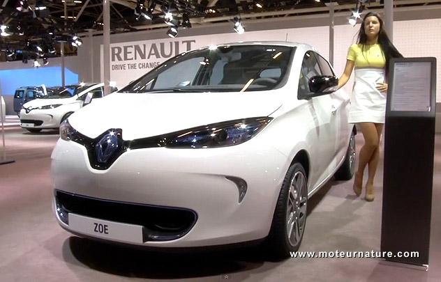 Renault Zoe au salon de Bologne
