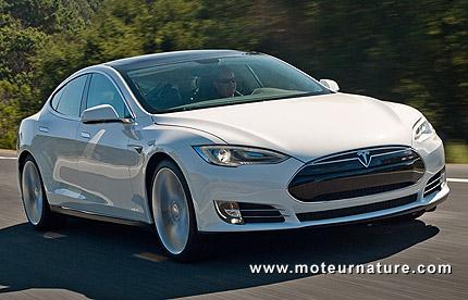 Les prix français de la Tesla modèle S