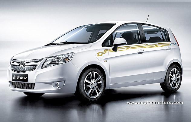 Chevrolet Springo electric
