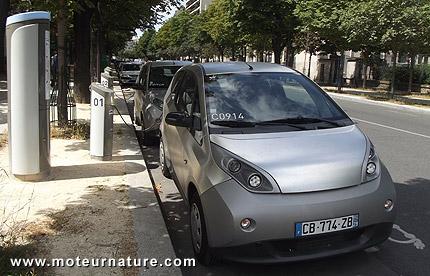 Autolib à Paris
