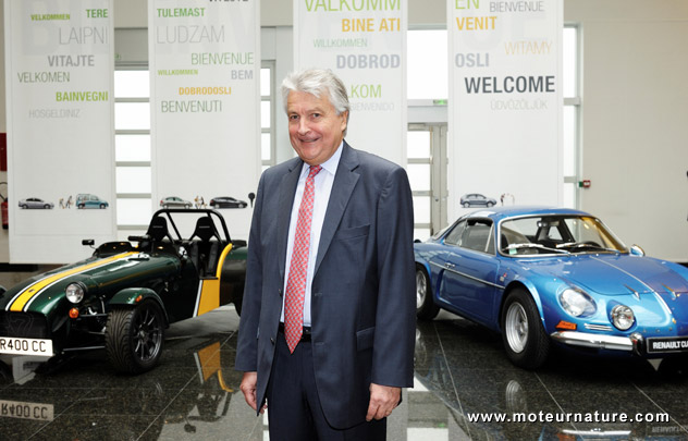 Bernard Ollivier, the head of Société des Automobiles Alpine Caterham (SAAC)