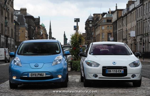 Nissan Leaf & Renault Fluence ZE
