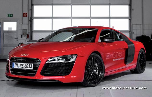 L'Audi R8 e-tron annulée?