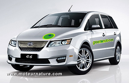 BYD E6 from the greentomatocars fleet