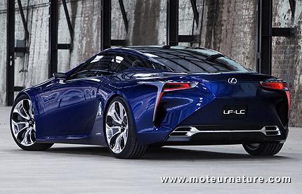 Lexus LF-LC, un concept qui avance