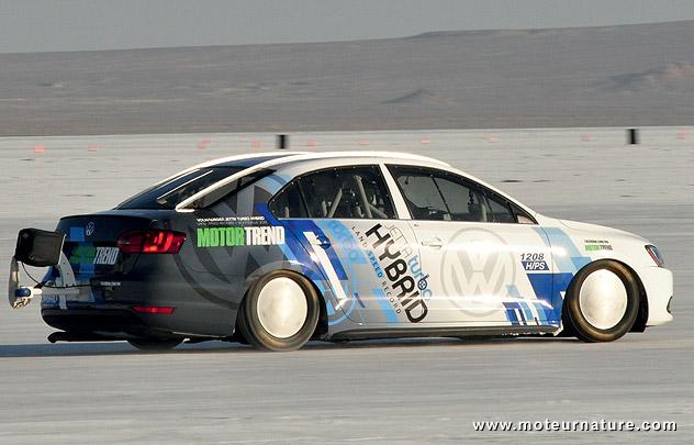 Volkswagen Jetta hybrid at Bonneville