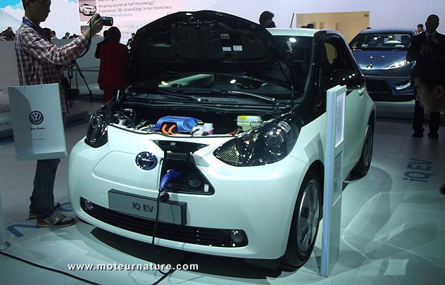 Toyota Iq électrique