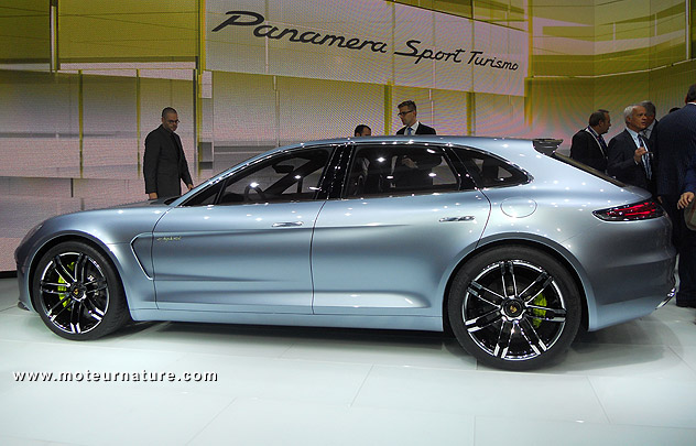 concept porsche panamera sport turismo plug in hybride. Black Bedroom Furniture Sets. Home Design Ideas