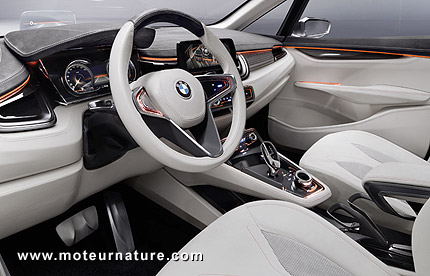 BMW concept Active Tourer hybride rechargeable