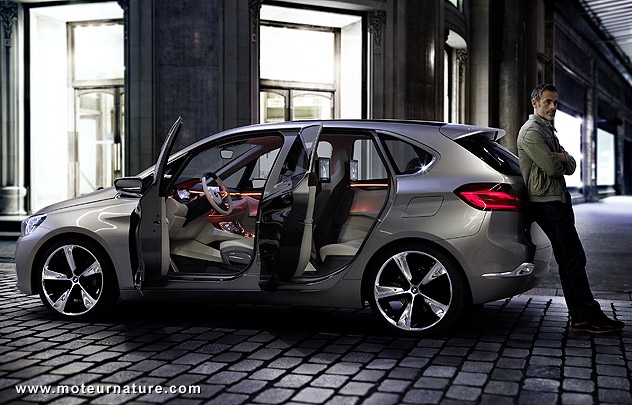 bmw concept active tourer hybride rechargeable. Black Bedroom Furniture Sets. Home Design Ideas