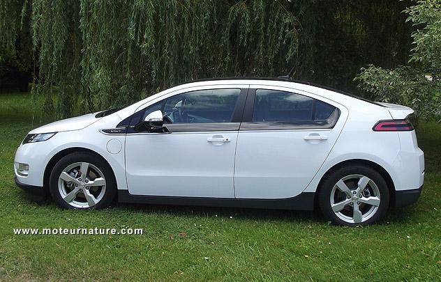 Chevrolet Volt électrique