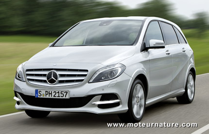 Mercedes B-class, natural gas version