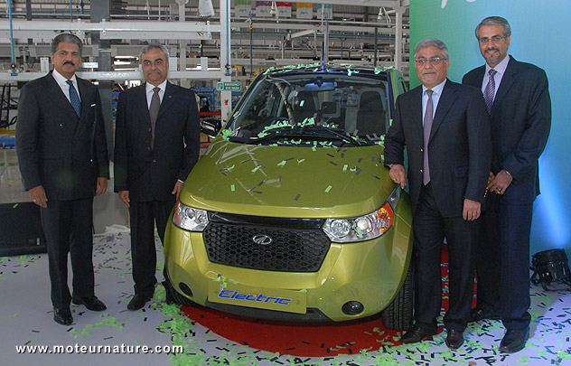 Mahindra Reva plant in India