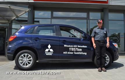 Mitsubishi ASX Outlander Sport diesel SUV