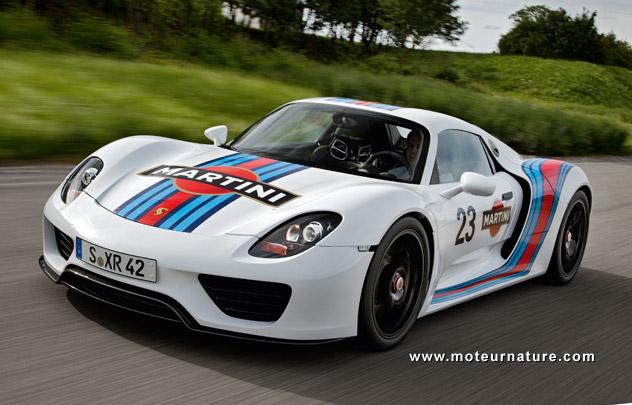 Porsche 918 Spyder plug-in hybrid