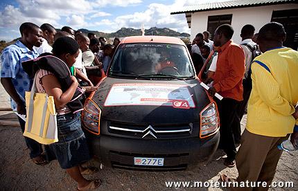 Mission Africa en Venturi électrique
