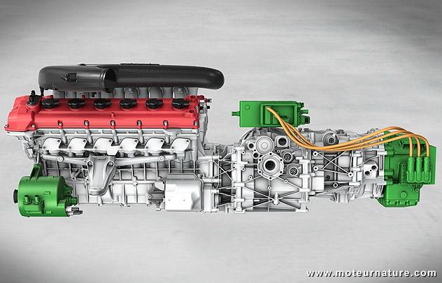 L'incroyable future Ferrari hybride