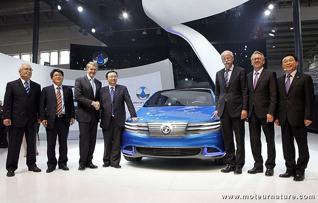 Une nouvelle chinoise électrique, la Denza