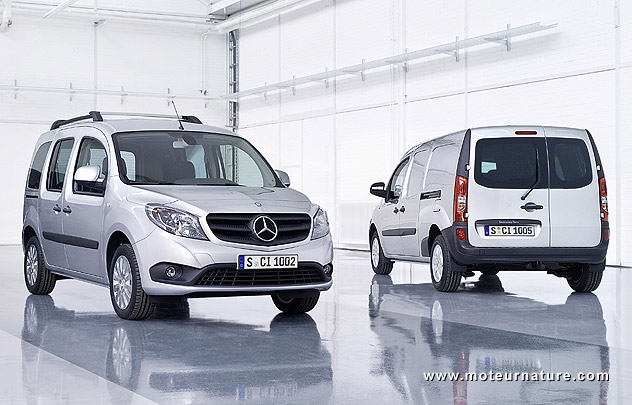 citan apr s vw mercedes fait un utilitaire avec renault. Black Bedroom Furniture Sets. Home Design Ideas