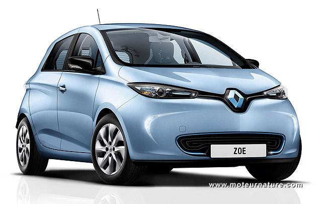 L'automne favorable à la Renault Zoé