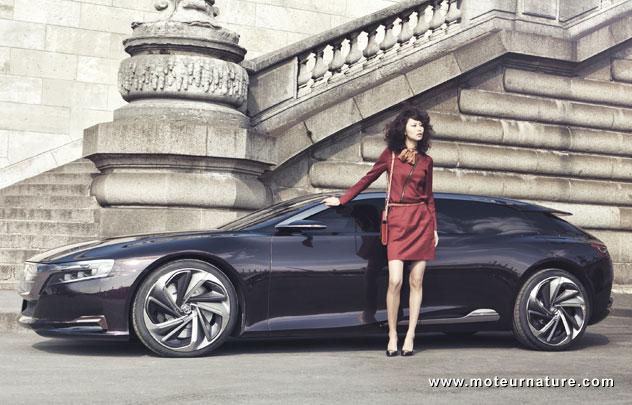 Meilleur Voiture Electrique >> Citroën Numéro 9, un concept hybride rechargeable pour la ...