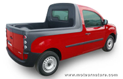 Renault Kangoo pick-up par Durisotti