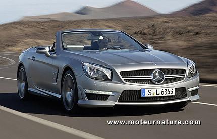 Mercedes SL63 AMG: 30% plus sobre
