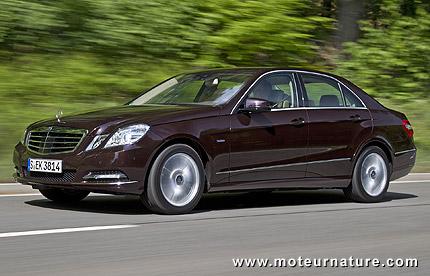 Downsizing: Mercedes va mettre un 1600 dans la classe E