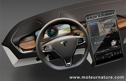 la tesla mod le x la plus grosse de toutes les lectriques. Black Bedroom Furniture Sets. Home Design Ideas