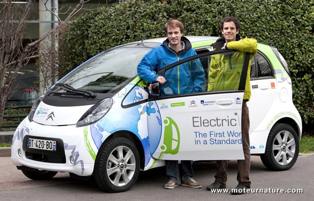 L'odyssée électrique de Citroën