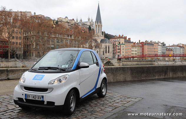 smart car2go à Lyon