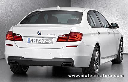 L'impressionnante technologie de la BMW M550d