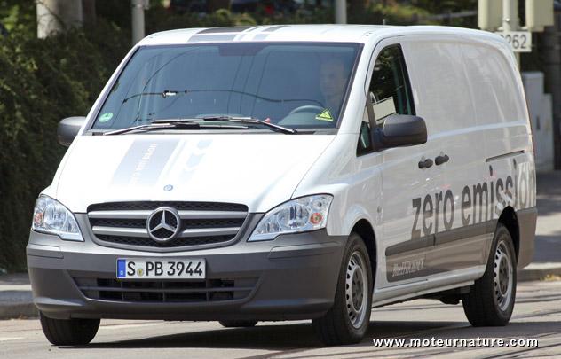 Parcours sans faute pour le Mercedes Vito E-Cell